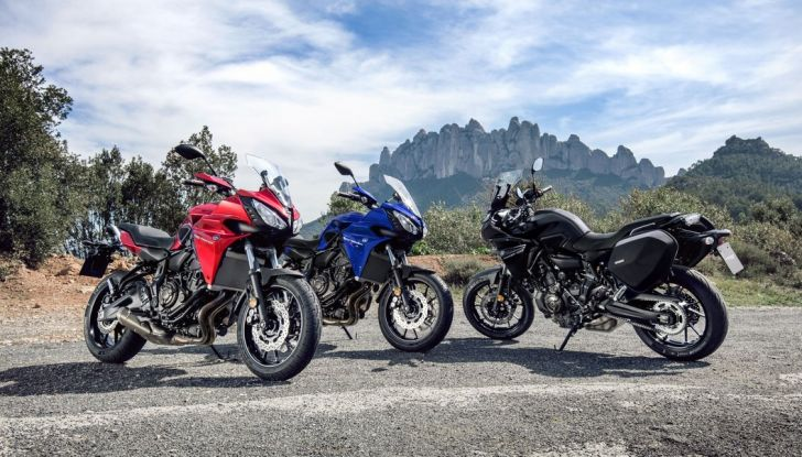 Nuova Yamaha Tracer 700 2016: Caratteristiche, dettagli e video - Foto 4 di 28