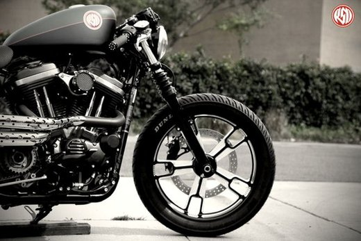 Harley Cafe Sportster by Roland Sands - Foto 21 di 38