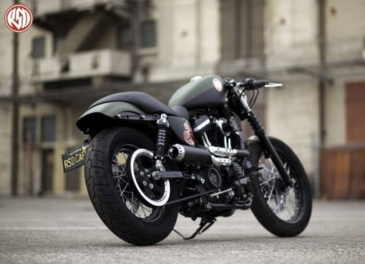 Harley Cafe Sportster by Roland Sands - Foto 19 di 38