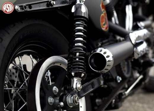Harley Cafe Sportster by Roland Sands - Foto 35 di 38