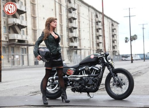 Harley Cafe Sportster by Roland Sands - Foto 1 di 38