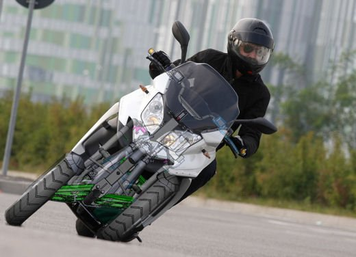 Quadro 350D – Test ride