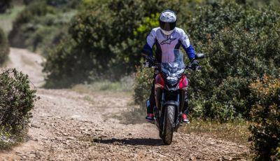 Test Honda CB 500X: divertimento e facilità immediata!