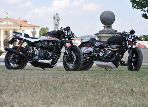 Triumph Bonneville T12 e T12.2 Bonneville T100 Carb by Free Spirits - Foto 1 di 33