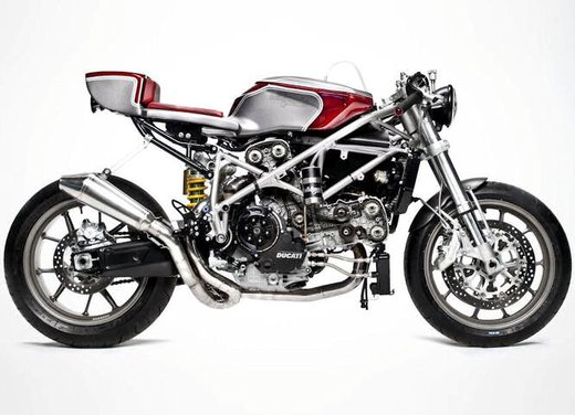 Ducati 749 Cafe Racer by South Garage