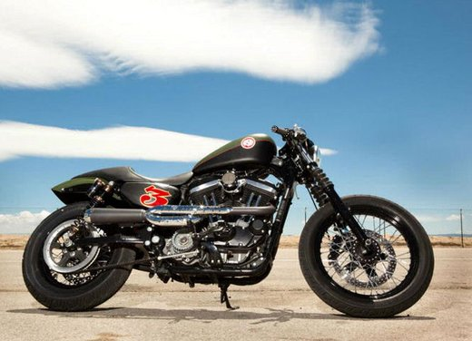 Harley Cafe Sportster by Roland Sands - Foto 9 di 38