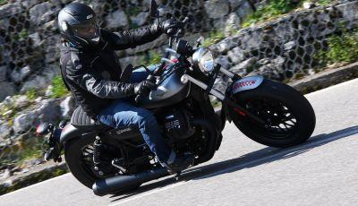 Moto Guzzi V9 Roamer e Moto Guzzi V9 Bobber: the italian custom