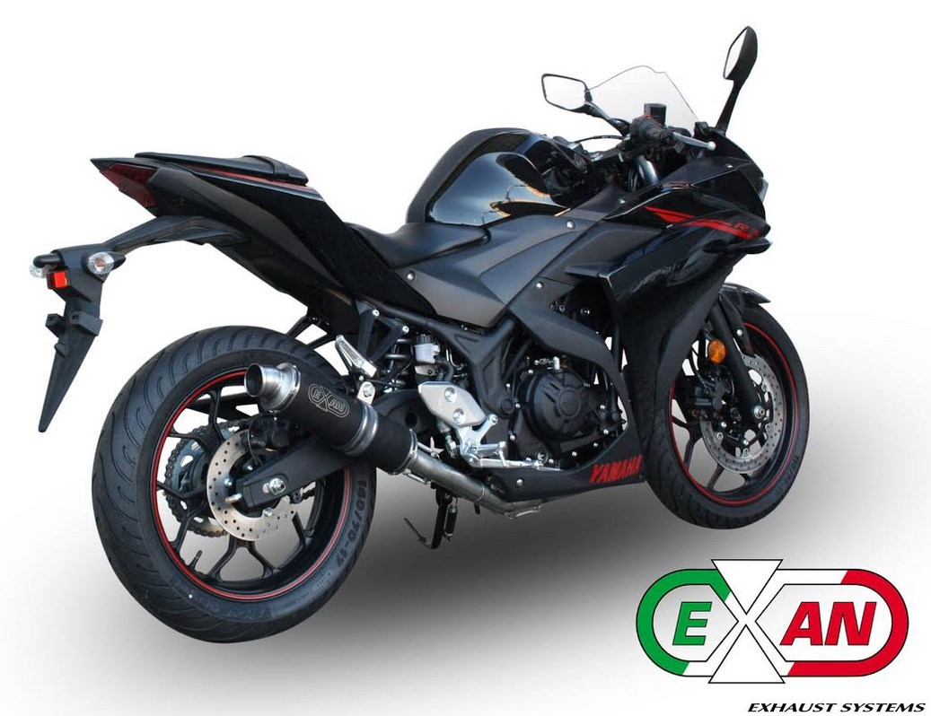 Yamaha YZF-R3: Exan propone due novità - Foto 1 di 5