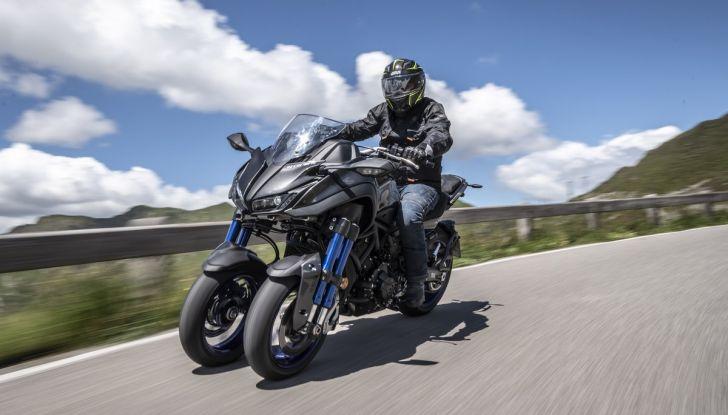 Yamaha Niken: come va la moto più discussa di sempre - Foto 1 di 22