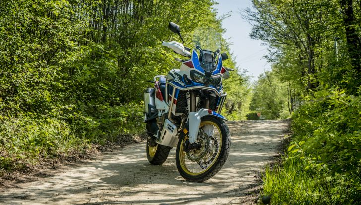 Honda Africa Twin 2020: in arrivo la versione rinnovata e migliorata - Foto 15 di 35