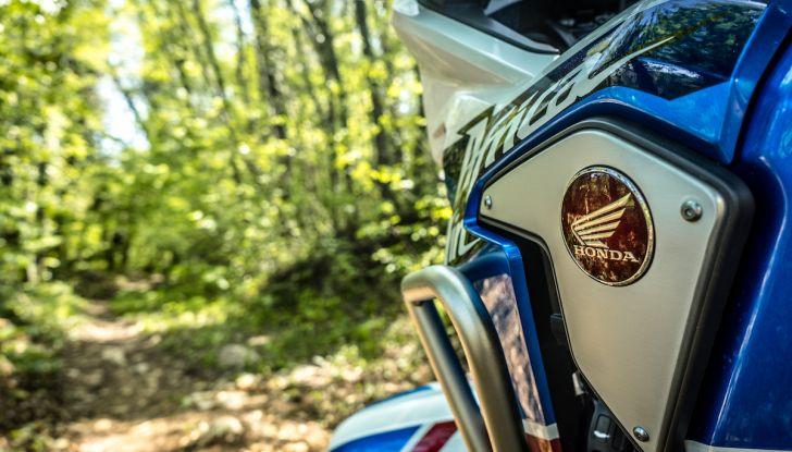 Honda Africa Twin 2020: in arrivo la versione rinnovata e migliorata - Foto 17 di 35
