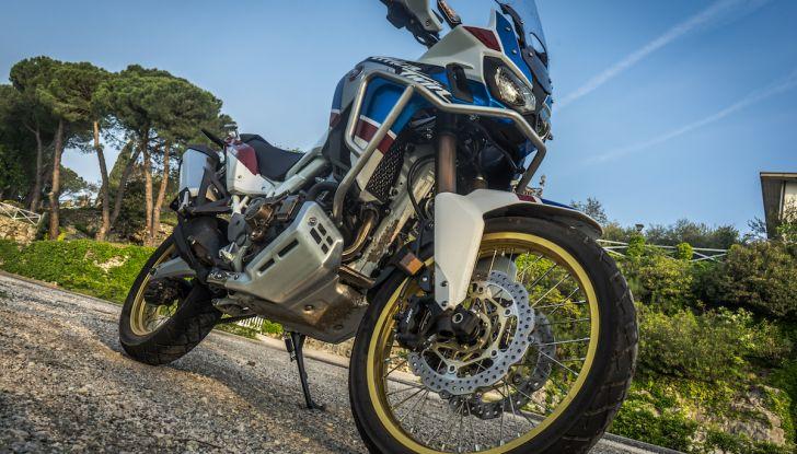 Honda Africa Twin 2020: in arrivo la versione rinnovata e migliorata - Foto 16 di 35