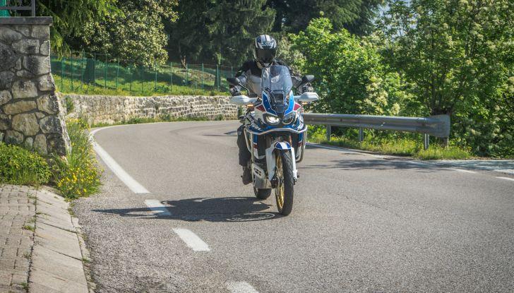 Honda Africa Twin 2020: in arrivo la versione rinnovata e migliorata - Foto 9 di 35