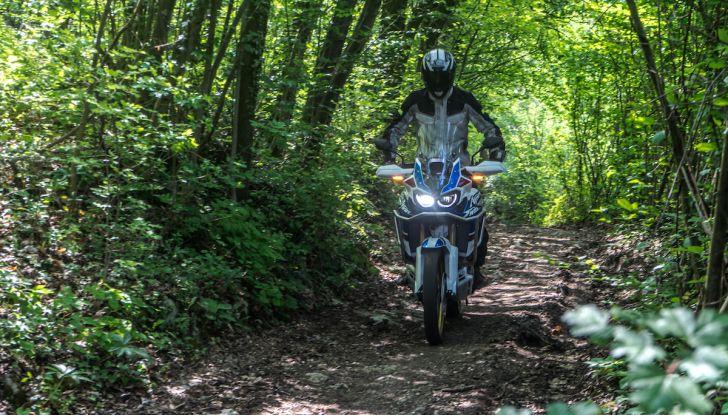 Honda Africa Twin 2020: in arrivo la versione rinnovata e migliorata - Foto 12 di 35