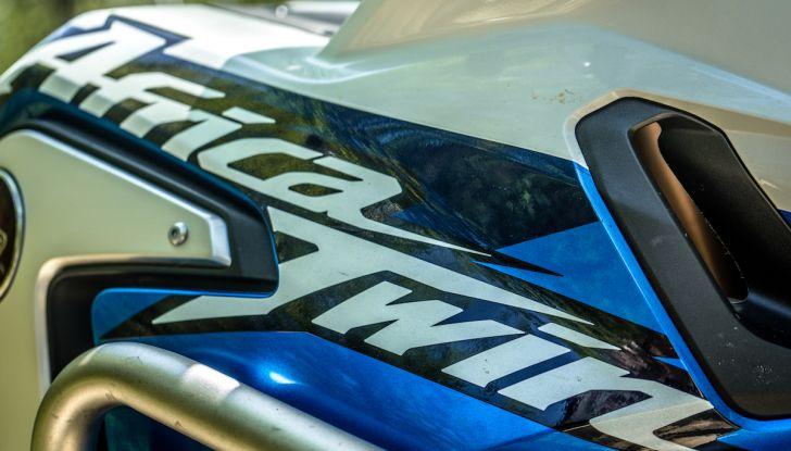 Honda Africa Twin 2020: in arrivo la versione rinnovata e migliorata - Foto 5 di 35