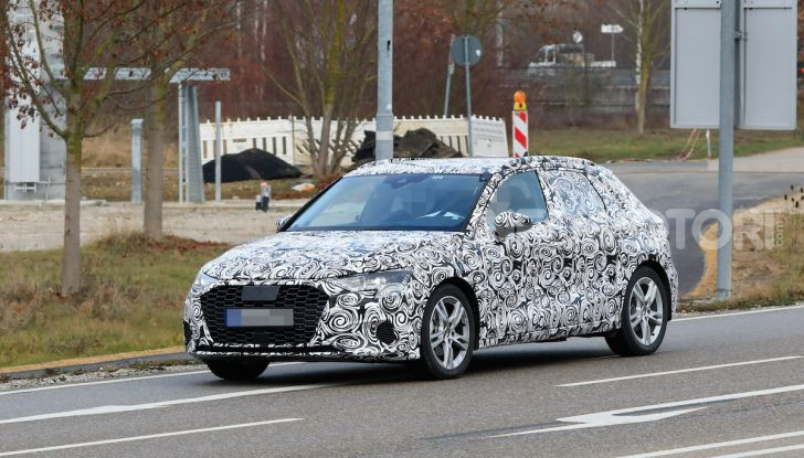 Audi A3 MY2020 primi test e informazioni tecniche - Foto 1 di 13