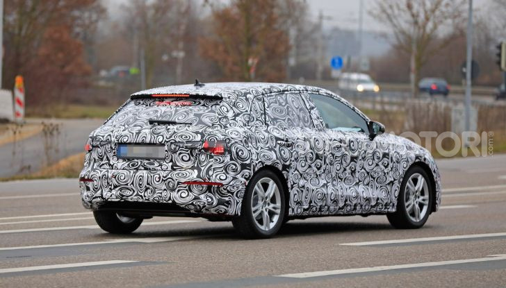 Audi A3 MY2020 primi test e informazioni tecniche - Foto 11 di 13