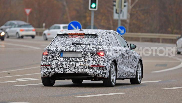 Audi A3 MY2020 primi test e informazioni tecniche - Foto 12 di 13