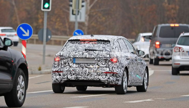 Audi A3 MY2020 primi test e informazioni tecniche - Foto 13 di 13