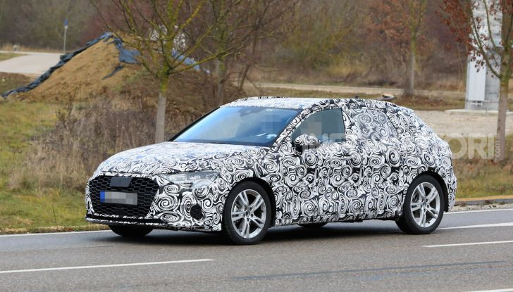 Audi A3 MY2020 primi test e informazioni tecniche - Foto 2 di 13