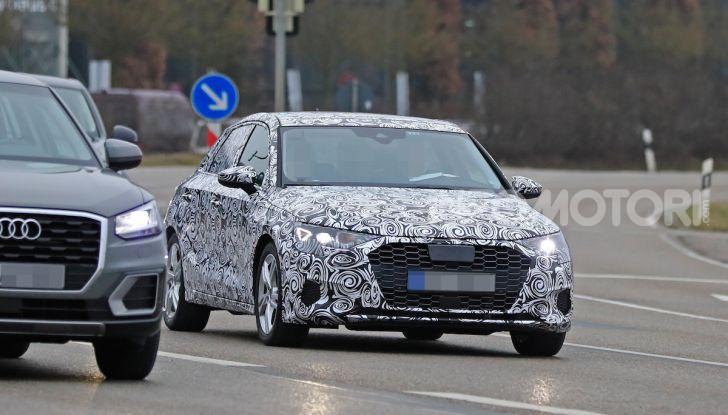 Audi A3 MY2020 primi test e informazioni tecniche - Foto 8 di 13