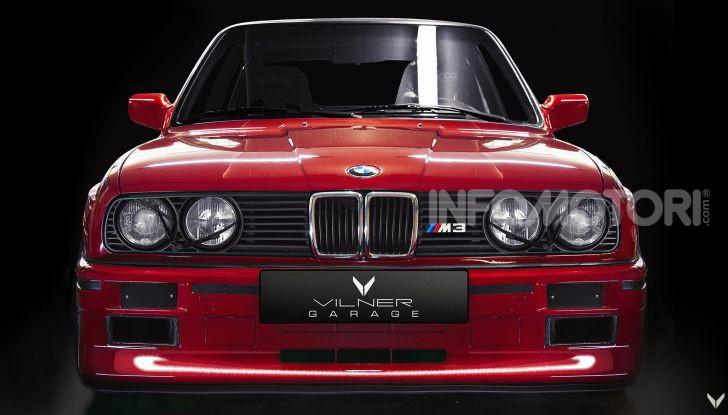 BMW M3 Evo E30 by Vilner, tuning d'autore - Foto 2 di 20