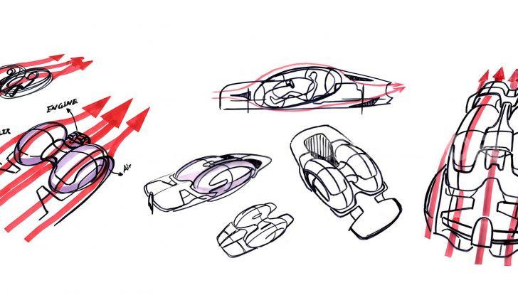Bugatti Type 100, l'hypercar più estrema della Divo - Foto 10 di 11