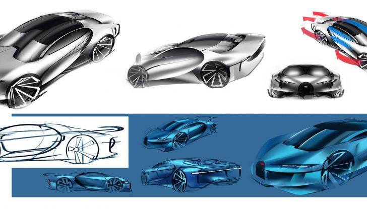 Bugatti Type 100, l'hypercar più estrema della Divo - Foto 7 di 11
