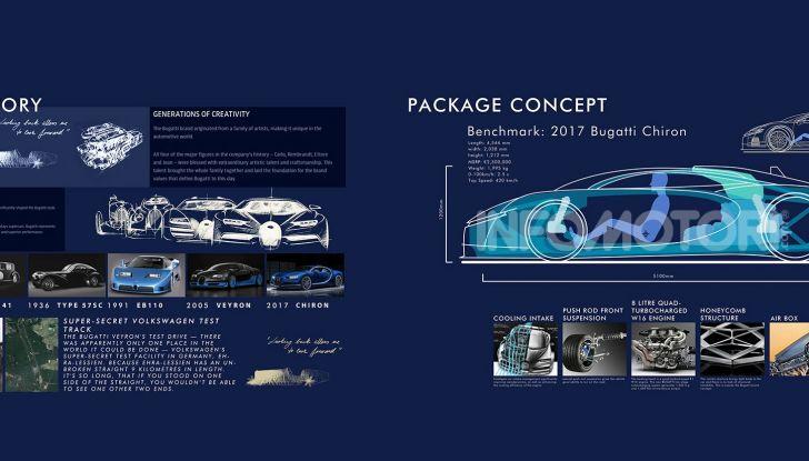 Bugatti Type 100, l'hypercar più estrema della Divo - Foto 8 di 11