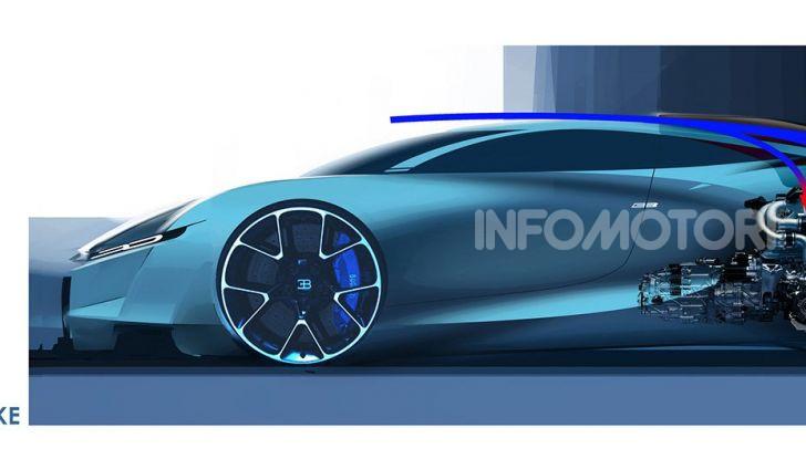 Bugatti Type 100, l'hypercar più estrema della Divo - Foto 5 di 11