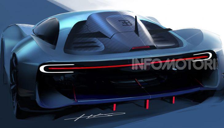 Bugatti Type 100, l'hypercar più estrema della Divo - Foto 3 di 11