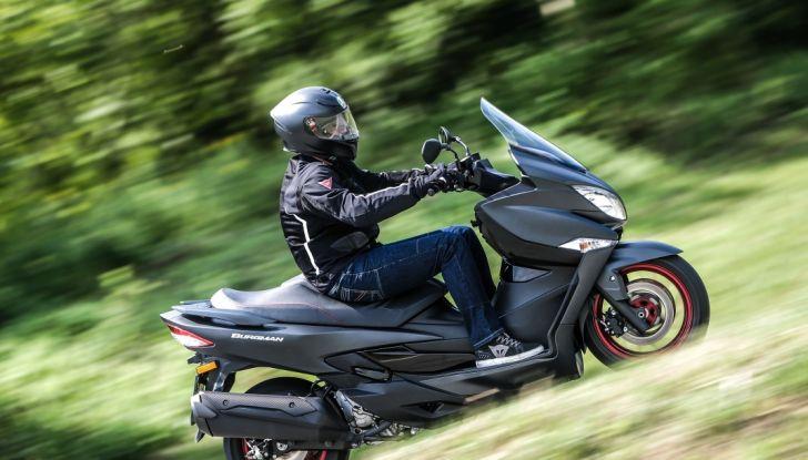 Nuovo Suzuki Burgman 400 ABS: Big in Japan! - Foto 1 di 12
