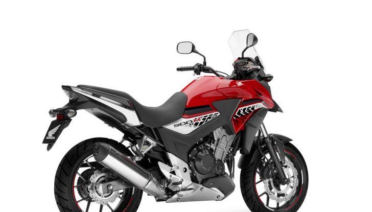 Test Honda CB 500X: divertimento e facilità immediata! - Foto 25 di 41