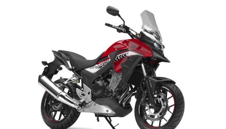 Test Honda CB 500X: divertimento e facilità immediata! - Foto 27 di 41