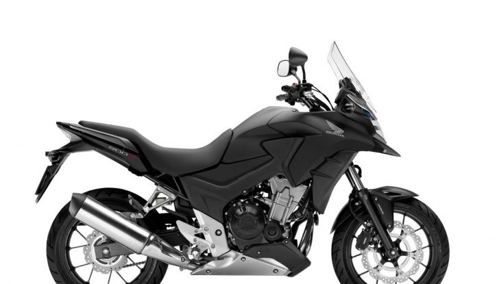 Test Honda CB 500X: divertimento e facilità immediata! - Foto 34 di 41