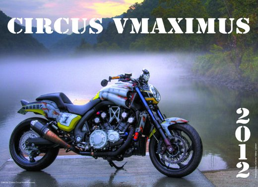Yamaha Vmax calendario 2012 by Circus Vmaximus