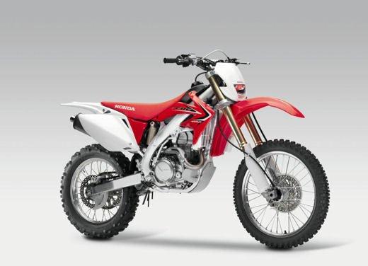 Honda CRF250X e CRF450X con novità grafiche
