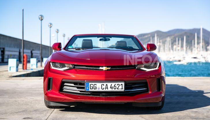 Test Drive Chevrolet Camaro Cabrio, la 2.0 turbo per andare ovunque - Foto 1 di 54