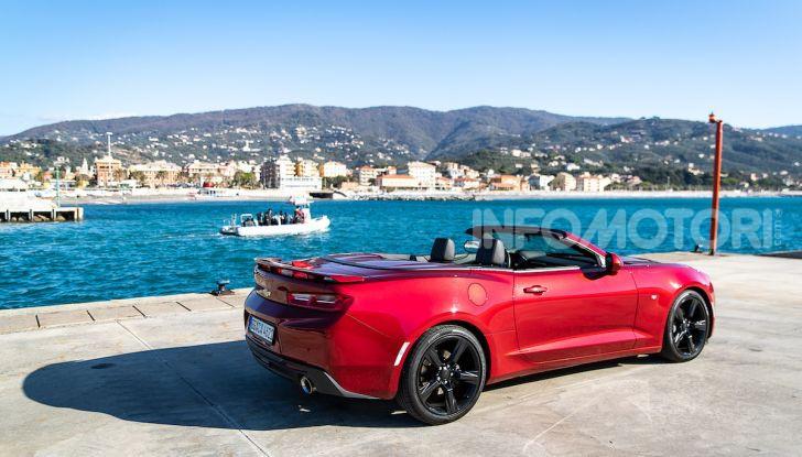 Test Drive Chevrolet Camaro Cabrio, la 2.0 turbo per andare ovunque - Foto 21 di 54
