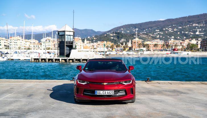 Test Drive Chevrolet Camaro Cabrio, la 2.0 turbo per andare ovunque - Foto 22 di 54