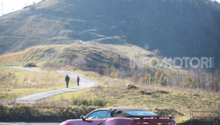Test Drive Chevrolet Camaro Cabrio, la 2.0 turbo per andare ovunque - Foto 27 di 54