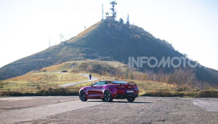 Test Drive Chevrolet Camaro Cabrio, la 2.0 turbo per andare ovunque - Foto 28 di 54