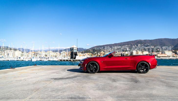 Test Drive Chevrolet Camaro Cabrio, la 2.0 turbo per andare ovunque - Foto 6 di 54