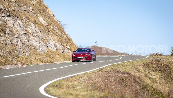 Test Drive Chevrolet Camaro Cabrio, la 2.0 turbo per andare ovunque - Foto 54 di 54