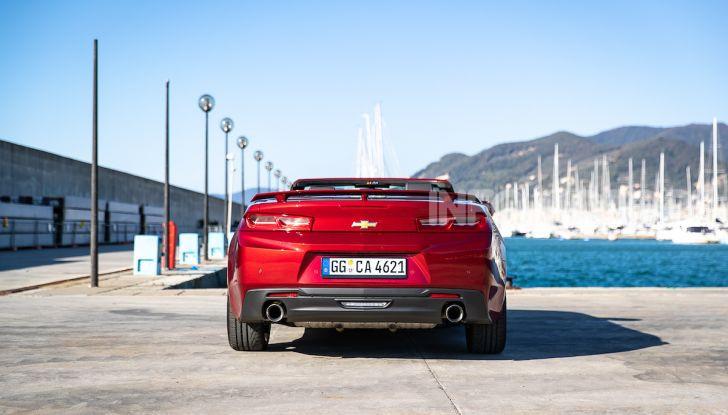 Test Drive Chevrolet Camaro Cabrio, la 2.0 turbo per andare ovunque - Foto 9 di 54