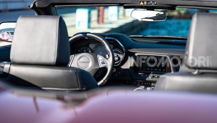Test Drive Chevrolet Camaro Cabrio, la 2.0 turbo per andare ovunque - Foto 12 di 54