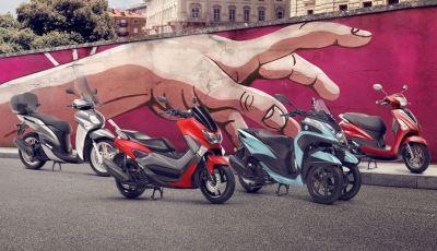 Promozioni Yamaha: il meglio della gamma Scooter a tasso zero
