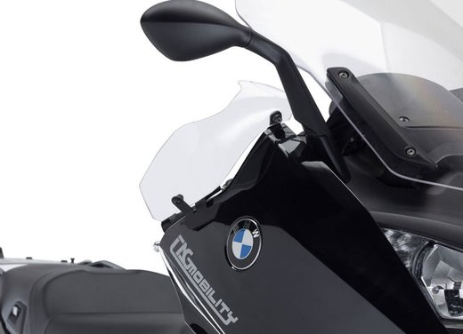 BMW C 600 Sport C 650 GT, accessori GIVI per i maxi scooter BMW - Foto 4 di 5