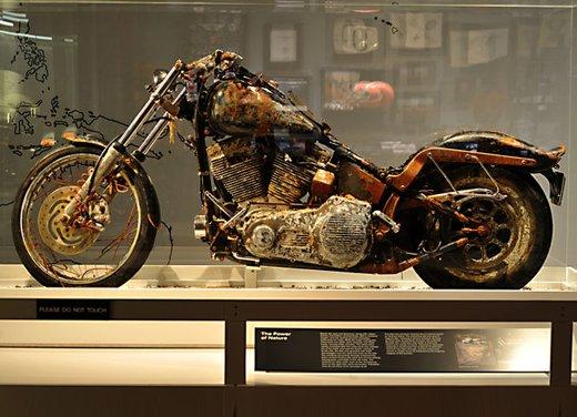 La Harley-Davidson sopravvissuta allo tsunami esposta al museo di Milwaukee