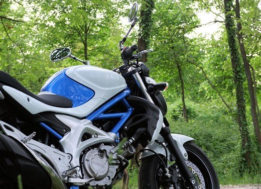 Yamaha XJ6 vs Suzuki Gladius - Foto 7 di 18